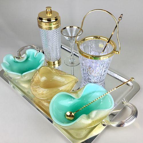 Alfredo Barbini Murano Sommerso bowls