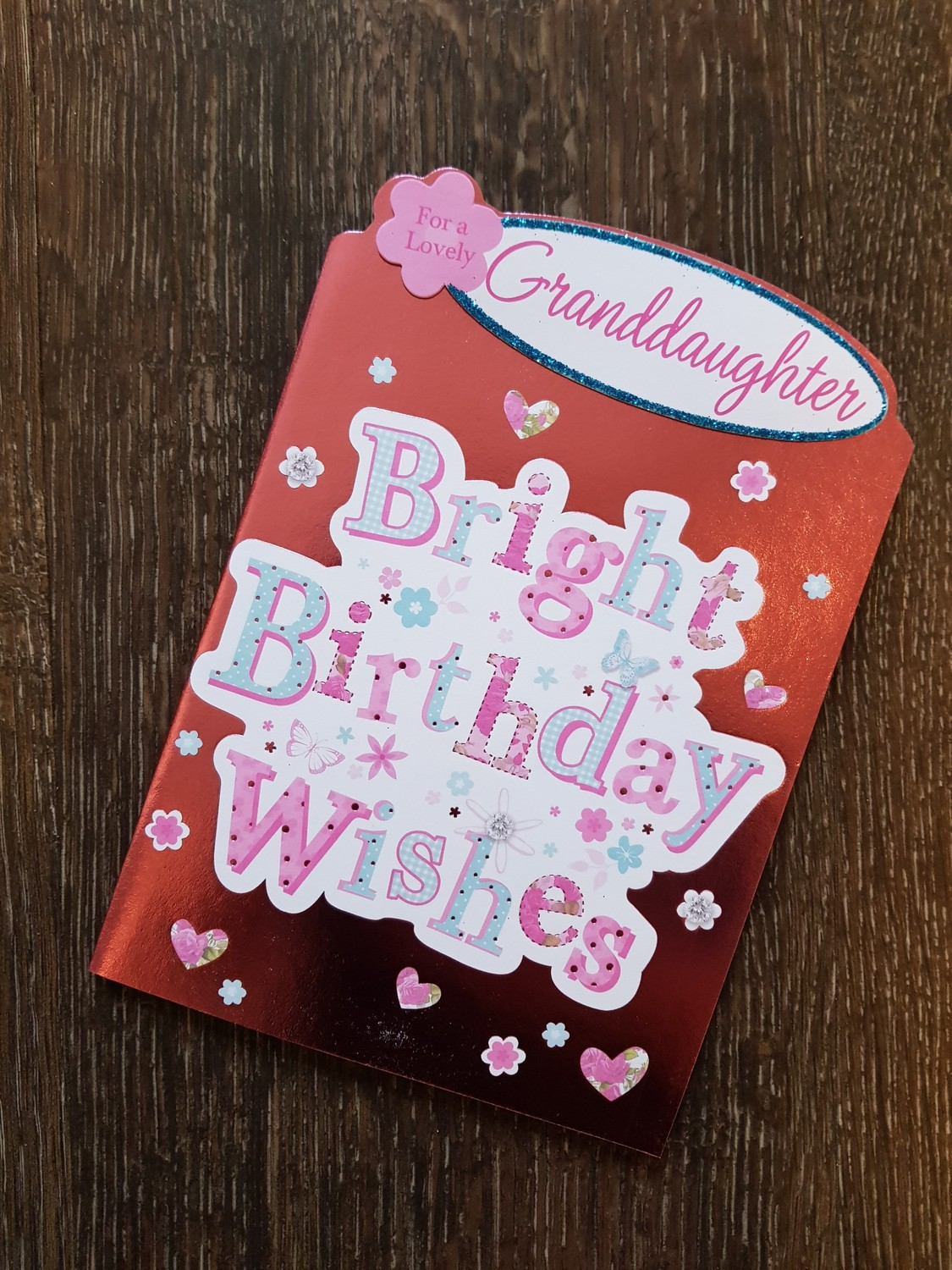 Grand Daughter Bright Birthday Wishes Card