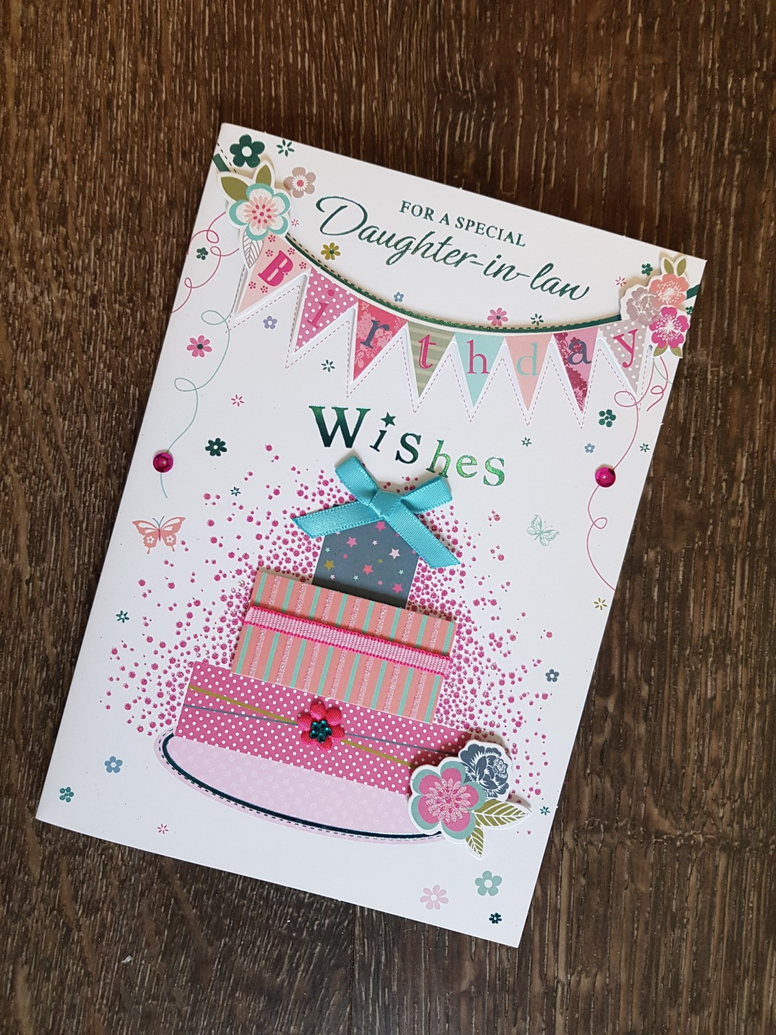 For A Special Daughter In Law Birthday Card