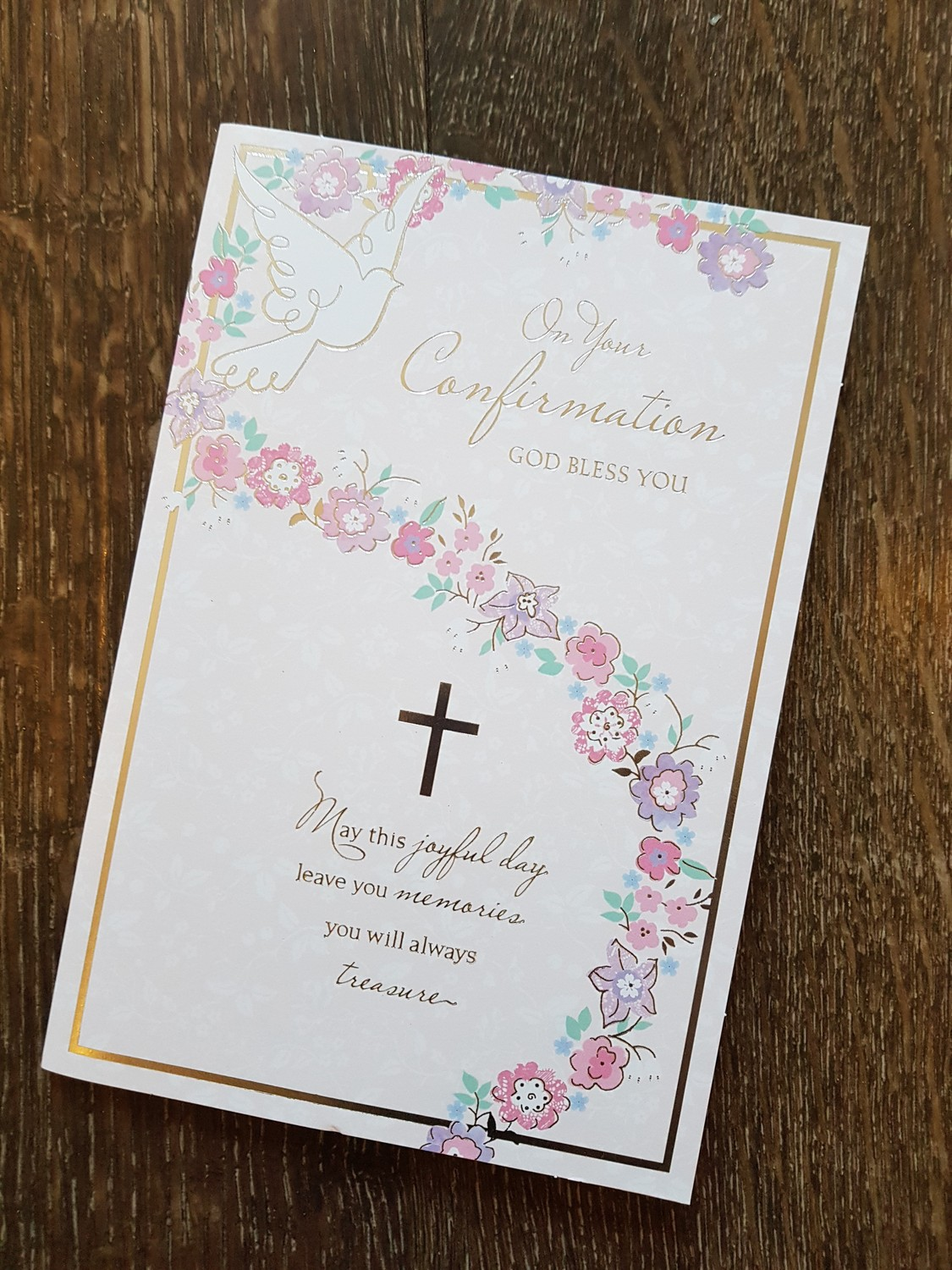 On Your Confirmation Flowers Card Remember That Card Greeting