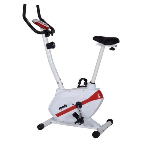 SportPlus Exercise Bike for Home with Adjustable Resistance