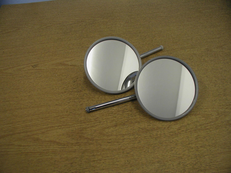 Door Mirror - Round Chrome RH