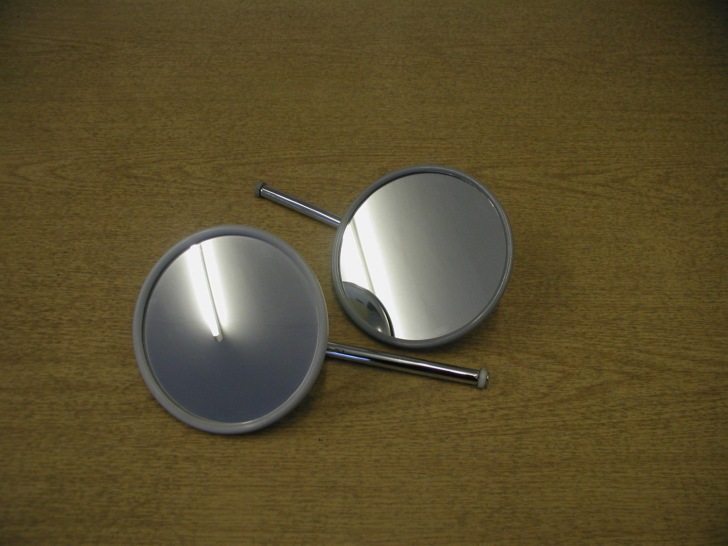 Door Mirror - Round Chrome RH
