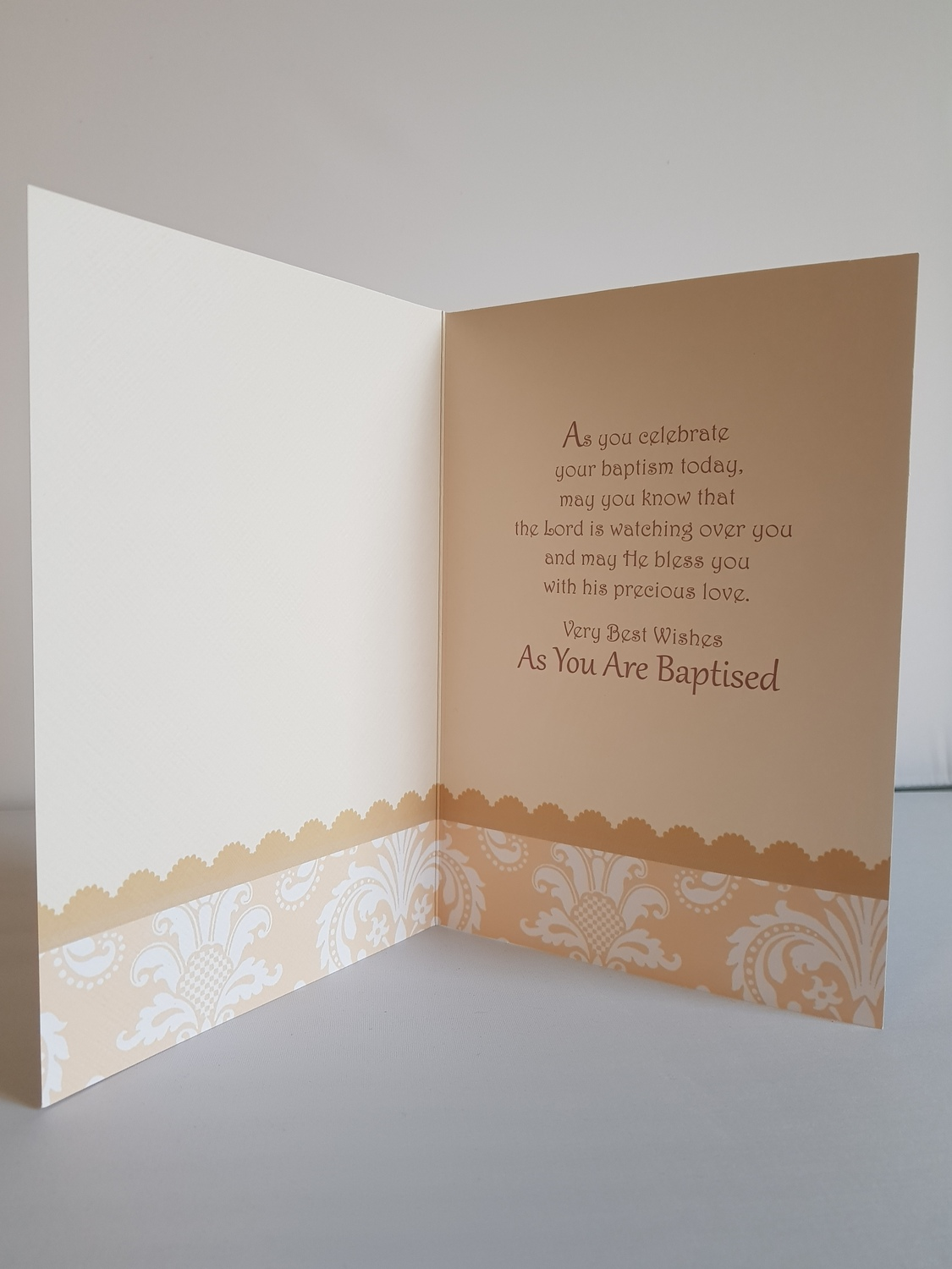 Congratulations On Your Baptism Remember That Card Greeting
