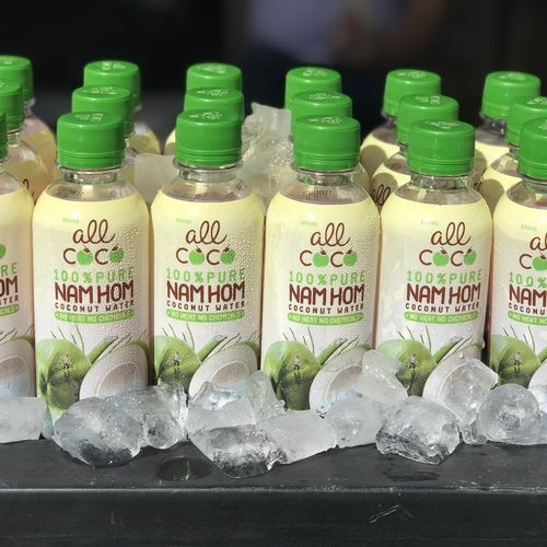 All Coco HPP 100% Organic Nam Hom Coconut Water 20x235ml/case