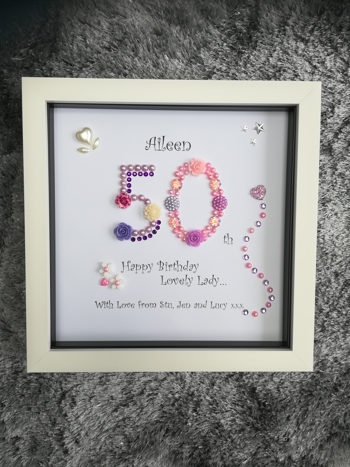 50th Birthday Crafty Monkey Personalised Gifts For All Occasions
