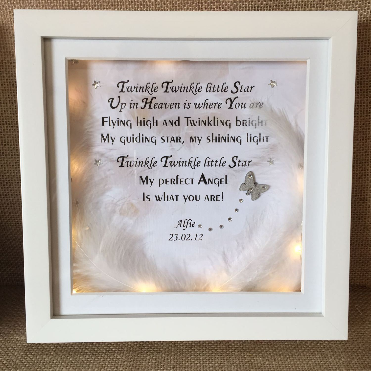 Twinkle Twinkle Little Star Crafty Monkey Personalised Gifts For