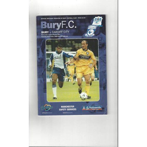 Cardiff City Away Football Programmes