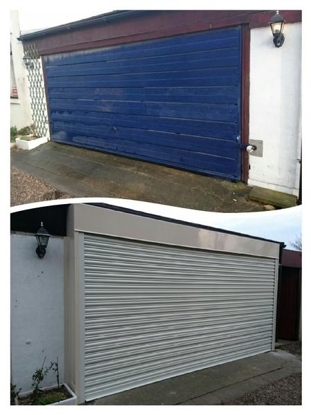 Custom Garage Door Access All Doors Ltd Automatic Door Leeds