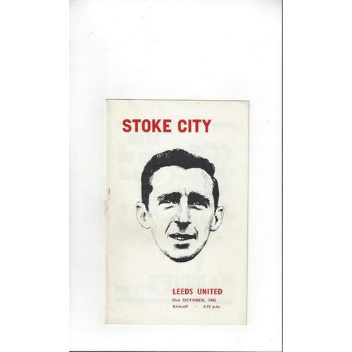 Stoke City Home Football Programmes