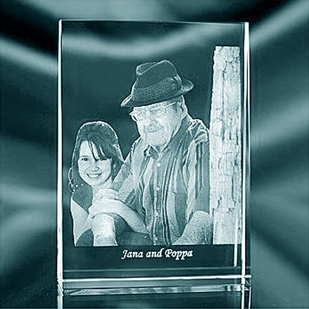 *NEW* 2D Mini Wedge Photo Frame. 80x60x20. Up To 2 People.