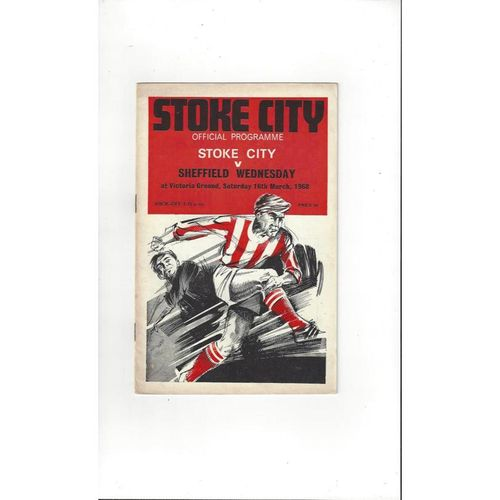 Stoke City Home Football Programmes