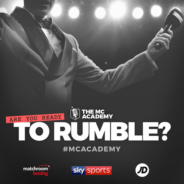 MATCHROOM, JD SPORTS AND SKY SPORTS LAUNCH 'THE MC ACADEMY