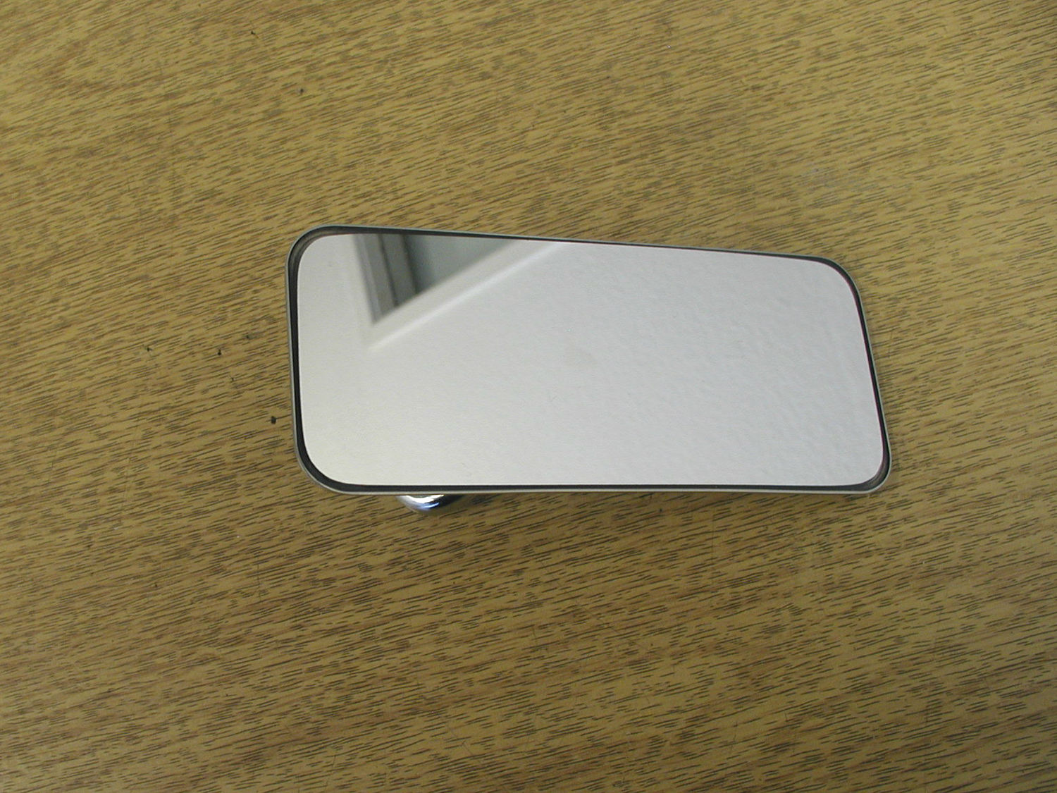 Rear View Mirror - Stainless, Small