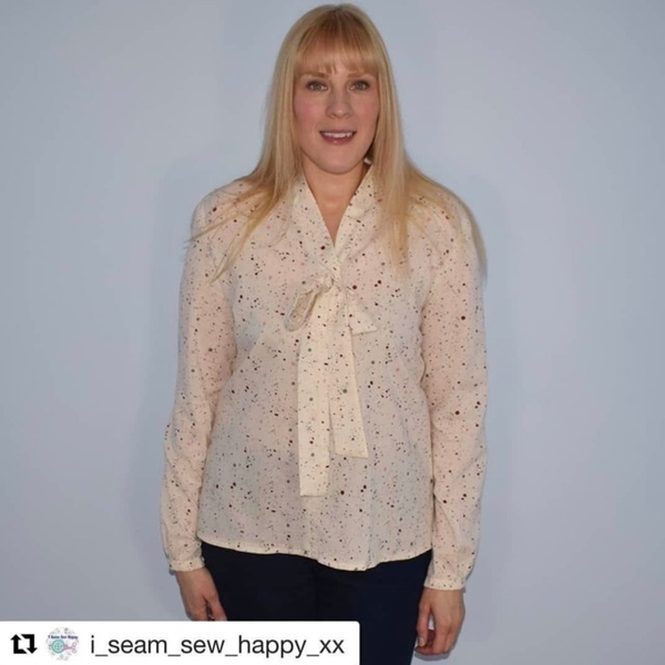 Sew Over It Pussy Bow Blouse
