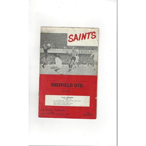 Southampton Football Programmes