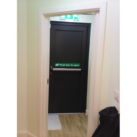 Pivot Anti-Panic Door
