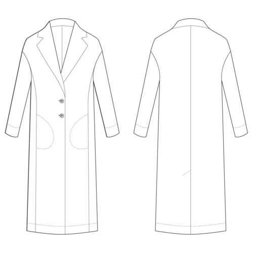 The Avid Seamstress Coat