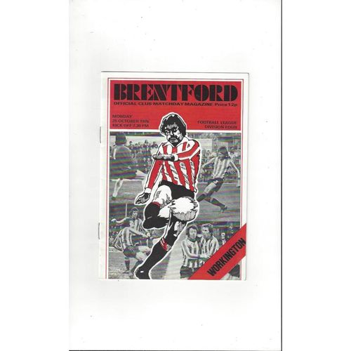 Workington Away Football Programmes