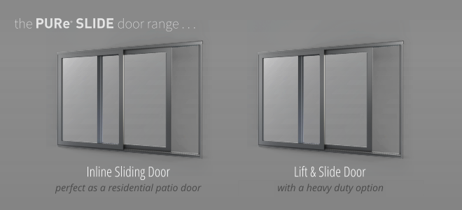 PURe Lift & Slide Doors