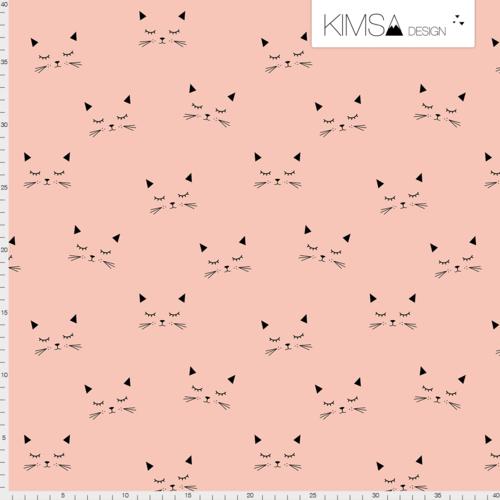 Kimsa Cats Blush Organic Jersey
