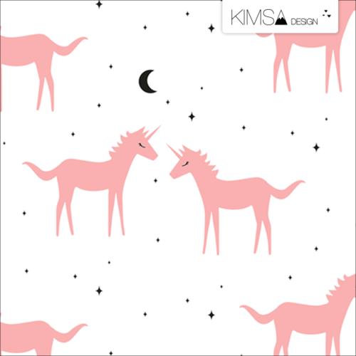Kimsa Blush Unicorn Organic Jersey 1.09m Remnant