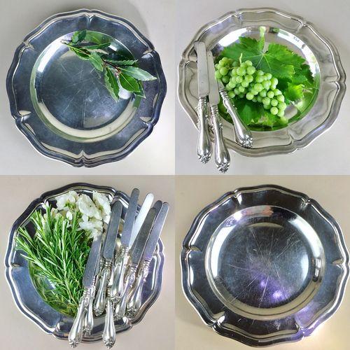 Wiskemann silver plated serving platter