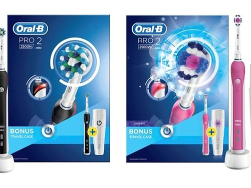 Oral-B Pro 2500 Electric Toothbrush - 2 Colours