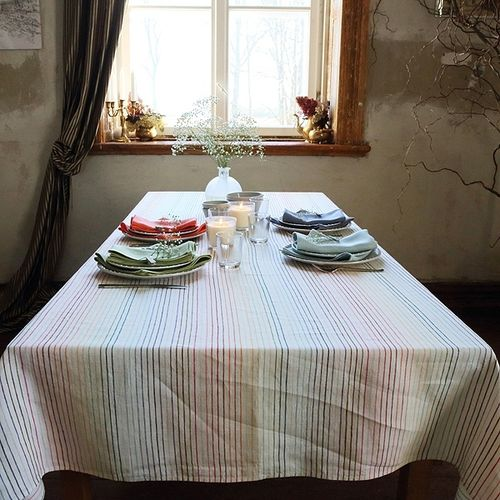 La Flotte Linen Tablecloth