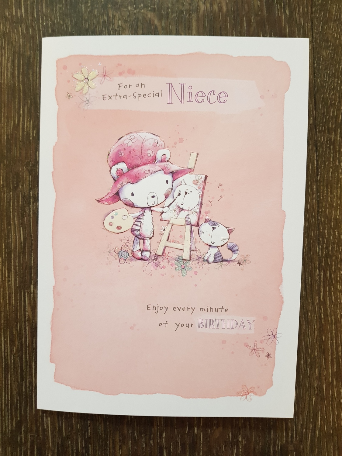 For An Extra Special Niece Pink Birthday Card Remember That Card