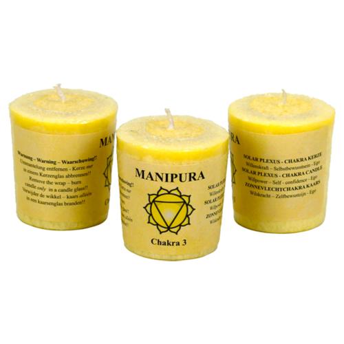 Chakra 3 Votive Candle
