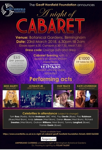 A NIGHT OF CABARET