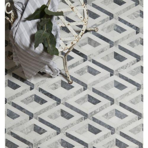 Cubist Marble Mosaic