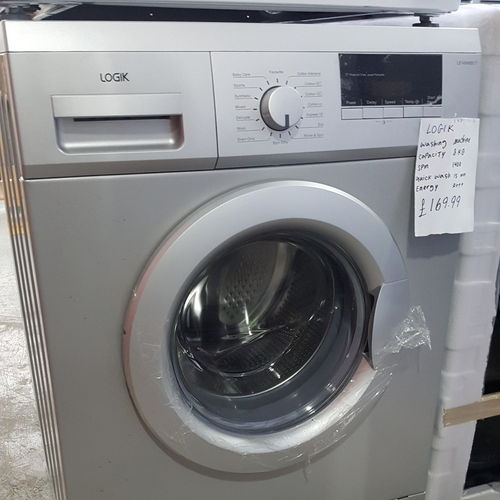 LOGIK L712WM16 Washing Machine - Silver