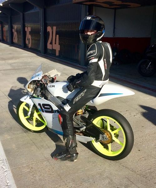 Scott Ogden Racing #19 - Valencia Testing