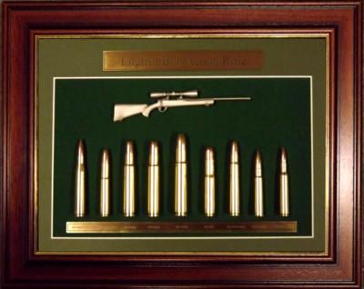 Hunting, Pistol Displays and Clocks