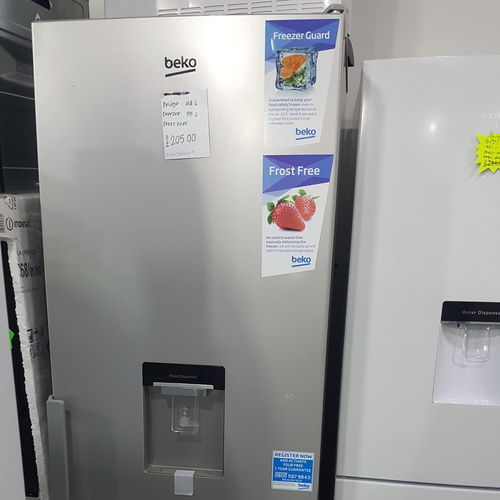 BEKO CXFP1582DS 50/50 Fridge Freezer - Silver