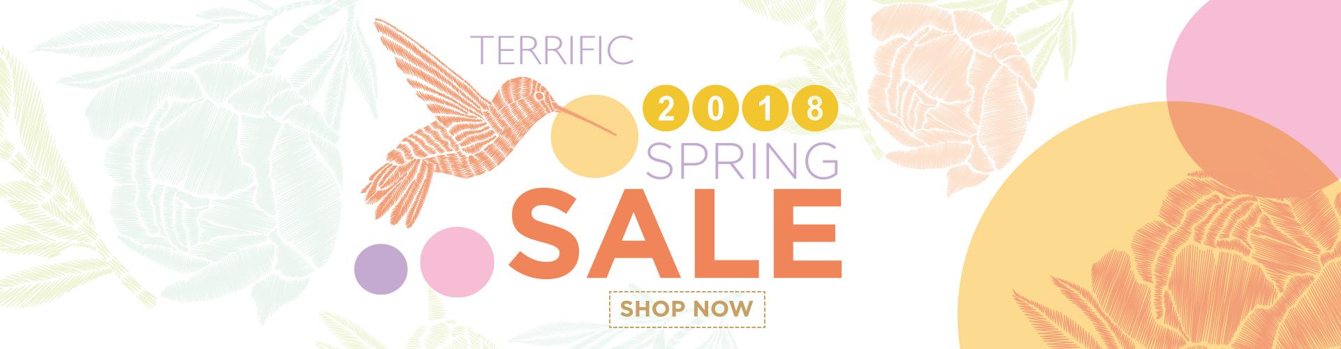 Terrific Promotional Merchandise 2018 Spring Sale