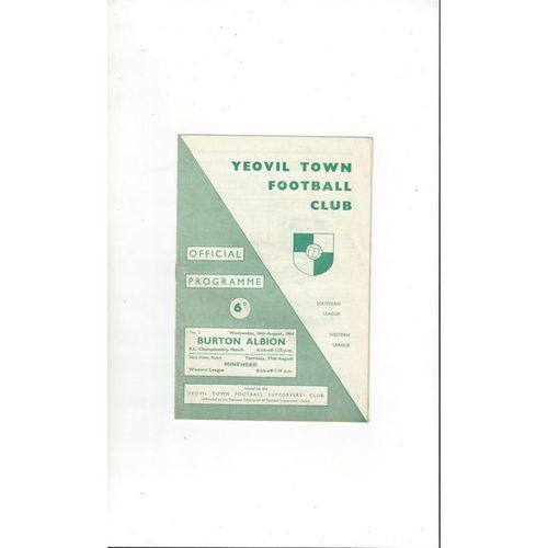 Yeovil Town Home Football Programmes