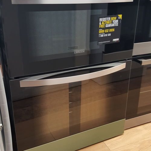 Zanussi ZOD35511XK Built-In Double Electric Oven, Stainless Steel