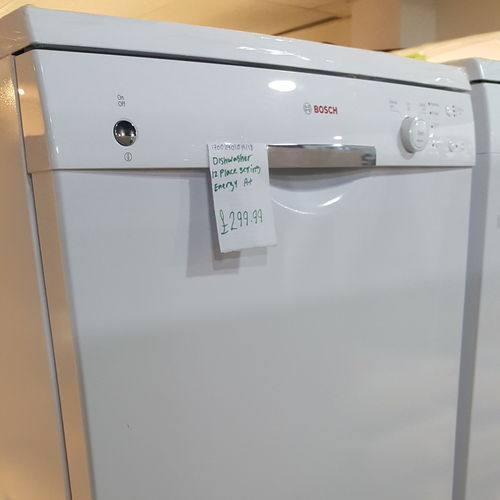 BOSCH SMS40T32GB Full-size Dishwasher - White