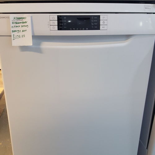 KENWOOD KDW60W15 Full-size Dishwasher - White