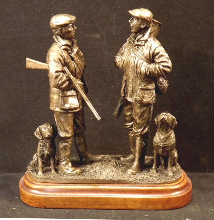 Cold Cast Bronze Resin Figurines