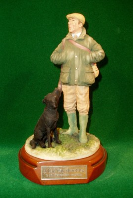 Limited Edition Hand Painted English Shooting Figurines & Lamps