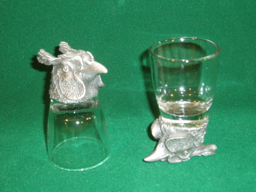 Animal Head Shot Glasses