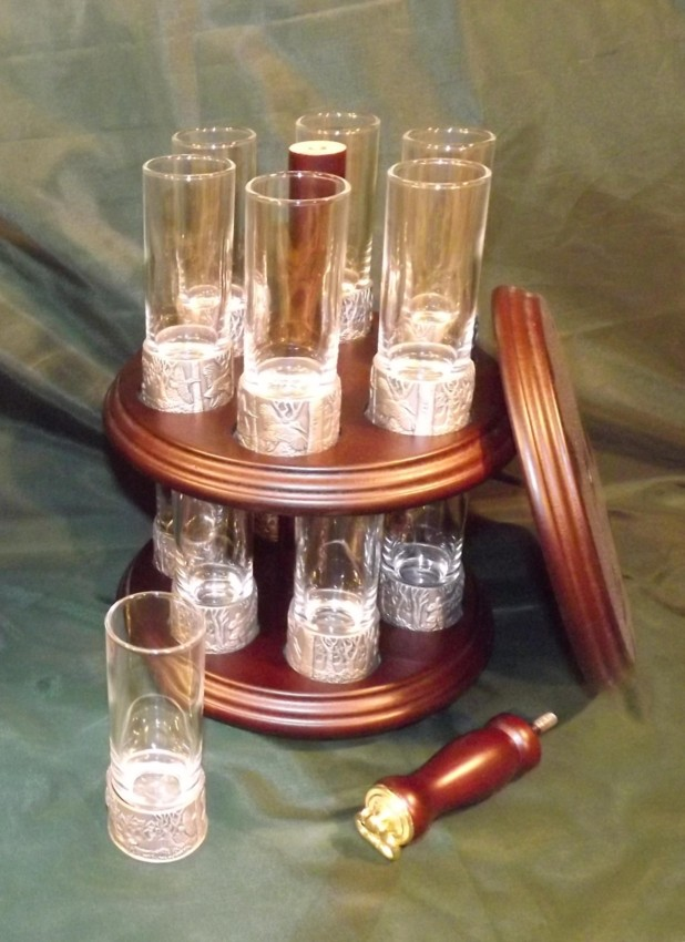 Peg Finder Shooters Shot Glasses