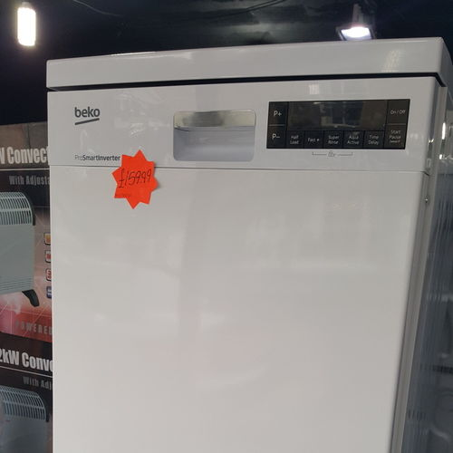 Beko DFS28R20W Slimline Dishwasher - White - A++ Rated