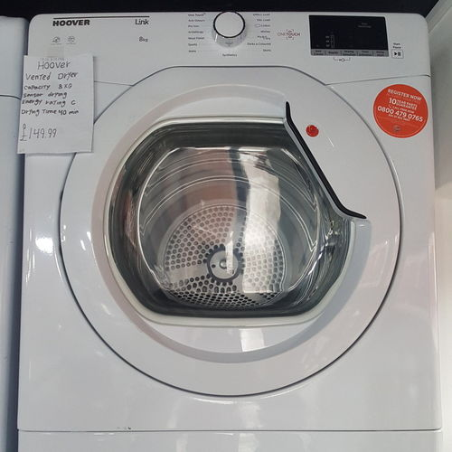 Hoover VTV581NCC Vented Dryer Wifi 8KG