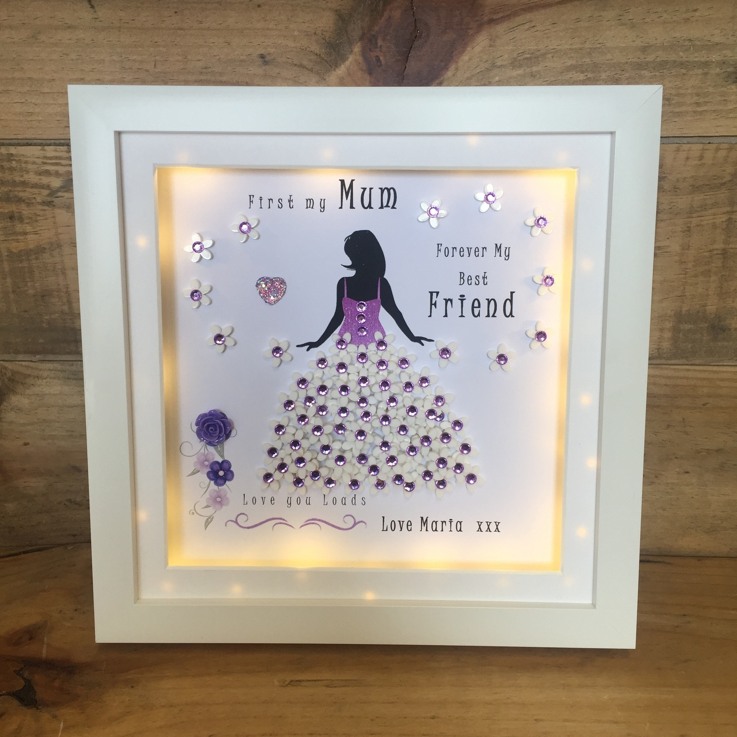 First my daughter / mother Forever my Friend | Crafty Monkey ...