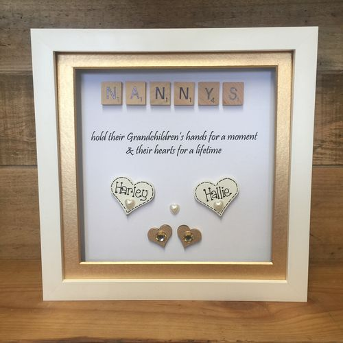 Frames from the children/ grandkids | Crafty Monkey | Personalised ...